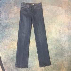 NWOT Levis 314 Shaping Straight Leg Jeans, Size 26